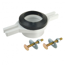 ADJUSTABLE PLASTIC URINAL FLANGE (ABS)