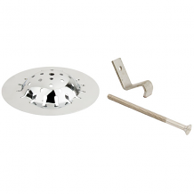 UNIV URINAL STRAINER W/ SPANNER SCREW