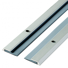DOOR SEAL F/DOUBLE DOORS-SATIN ALUM