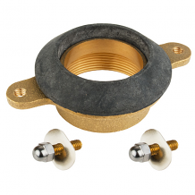 BRASS URINAL OUTLET SPUD