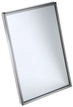 "16"" X 20"" S/S CHANNEL FRAME MIRROR"