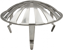 URINAL STRAINER WITH PRONGS