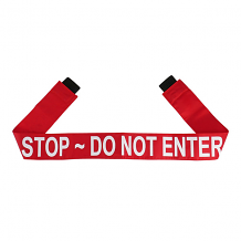 """DO NOT ENTER"" - RED MAGNETIC DOOR BARRIER FOR 36"" DOORWAY"