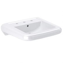 VITREOUS CHINA WALL-MOUNTED LAVATORY