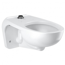 WALL MOUNTED 1.6-1.1 GPF ELONGATED TOILET W/TOP SPUD