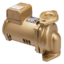 1/12TH HP BRONZE BOOSTER PUMP LESS FLANGE