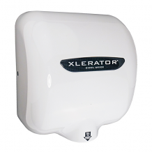 XLERATOR HAND DRYER-208/277V WHITE EPOXY