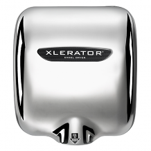 XLERATOR HAND DRYER-208/277V CHROME
