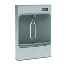SURFACE MT BOTTLE FILLING STATION, BATTERY POWERED, FILTERED, NON-REFRIGERATED SS