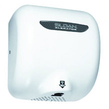 120V WHITE ELECTRONIC HAND DRYER