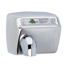 BRUSHED SS HAND DRYER 115V 20 AMPS