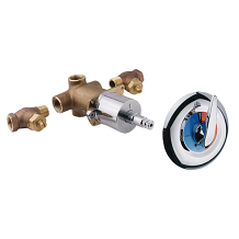 THERMOSTATIC MIXING SHOWER VALVE