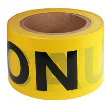 "3"" X 300' YELLOW ""CAUTION"" TAPE"