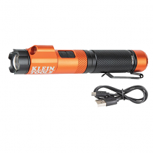 RECHARGEABLE FOCUS FLASHLIGHT W/ LASER