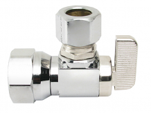 1/2 IPS X 1/2 OD CP ANGLE STOP BALL VALVE