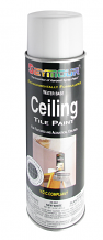 WHITE CEILING TILE PAINT - NEW