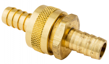 1/2 HVY BRASS HOSE COUPLER SET