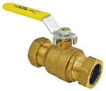 "3/4"" BRONZE COMP BALL VALVE"