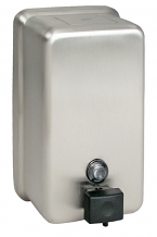SS VERTICAL SOAP DISPENSER