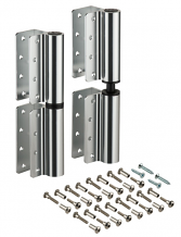 "INSWING/OUTSWING 8"" ALUM PARTITION HINGE SET OF 2"