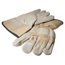 DOUBLE LEATHER PALM GLOVES (XL)