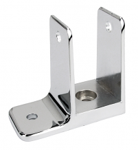 """SINGLE EAR WALL BRACKET 1-1/4"""" X 2-1/2"""" FOR TOILET PARTITION"""