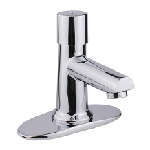 "4"" SINGLE SUPPLY METERING FAUCET"