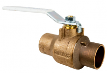 "1-1/2"" COPPER C X C BRONZE BALL VALVE"