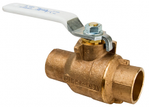 "1-1/4"" COPPER C X C BRONZE BALL VALVE"