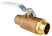 "1"" COPPER C X C BRONZE BALL VALVE"