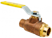"1/2"" COPPER C X C BRONZE BALL VALVE"