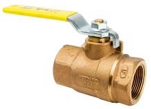 "1-1/4"" IPS BRONZE BALL VALVE"