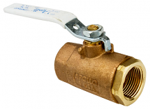 "1"" IPS BRONZE BALL VALVE"