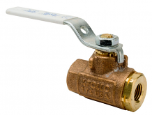 "1/4"" IPS BRONZE BALL VALVE"