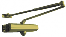 PARALLEL ARM DOOR CLOSER - GOLD BRONZE