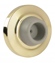 POL BRASS DOOR STOP & BUMPER