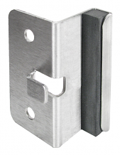 "STRIKE & KEEPER STAINLESS STEEL - FOR 3/4"" DOOR"