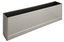 "S/S PILASTER SHOE F/ SQ EDGE 8"" X 1-1/4"""