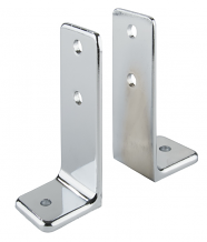 DOUBLE EAR, 2 PIECE  URINAL SCREEN BRACKET FOR TOILET PARTITION