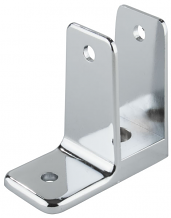 """SINGLE EAR WALL BRACKET 1"""" x  2-1/2"""" FOR TOILET PARTITION"""