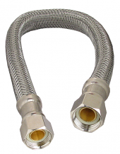 "SUPPLY LINE FAUCET-12"" 3/8"" FEM COMP X 3/8"" FEM COMP"