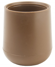 "7/8"" HD INSTITUTIONAL TAN POLY TIP"