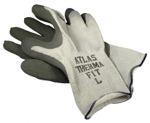 THERMAL RUBBER GRIP GLOVES (XL)