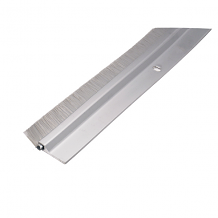 SATIN ALUMINUM DOOR SWEEP