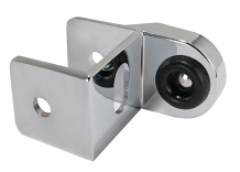 CP STRIKE & KEEPER - USED WITH CONCEALED LATCH ROUND BAR FOR LAMINATE ONLY