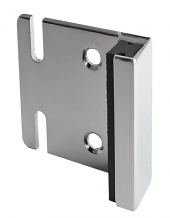 STRIKE & KEEPER CP - FOR ANY THICKNESS OR MATERIAL - USED WITH THROW OR SLIDE LATCH