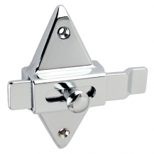 PARTITION SLIDE LATCH-OFFSET BAR-SCREWS