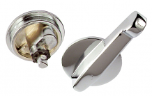 TWO PC CONCEALED LATCH ASSY