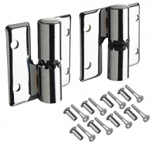 SURFACE MT PARTITION HINGES-LH INSWING