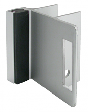 STRIKE & KEEPER ALUMINUM - USED WITH SLIDE LATCH - FOR INSWING DOOR FOR LAMINATE ONLY